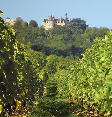 Das Château de Sancerre.